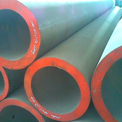 中山DN125无缝钢管钢管与法兰焊管喷漆